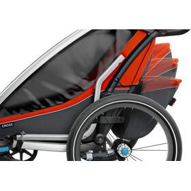 Thule Chariot Cross 1 Remorque vélo, roarange/dark shadow